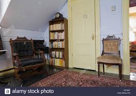 bedroom with eastlake chairs in 1904 victorian old house interior bedroom with eastlake chairs in 1904 victorian old house interior