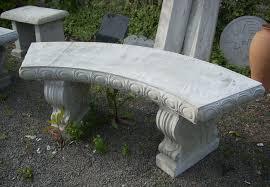 bench design extraordinary concrete garden bench outside benches