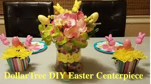 Dollar Tree Vases Centerpieces Dollar Tree Diy Easter Centerpiece Youtube