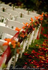 fall wedding decoration ideas wedding aisle decorations with flowers dreamy aisle décor