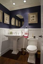 Navy And White Bathroom Ideas Pinterest Up Interesting Wainscoting Ideas Wainscoting
