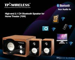 audio system for home theater bluetooth speaker tp wsd15 wireless high end 2 1 channel bluetooth