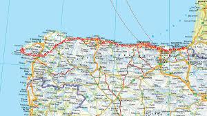 Fau Map Camino Del Norte Der Jakobsweg Im Norden Spaniens Stern De