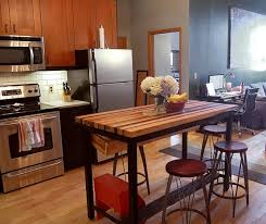 butcher block table designs butcher block dining table design ideas home interiors