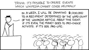 Wikipedia Donation Meme - 545 neutrality schmeutrality explain xkcd