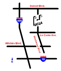 map to directions to the ucla geology building