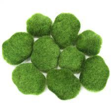 Moss Vase Filler Moss Chunks Moss Green 424300 Wholesale Wedding Supplies