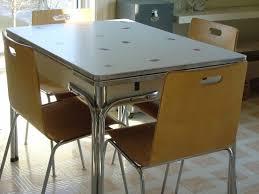 Retro Red Kitchen Chairs - kitchen retro kitchen table and 20 stunning retro kitchen chairs