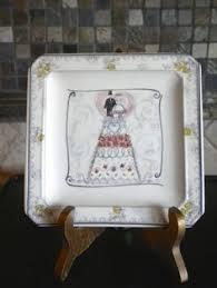 and groom plates vintage german nuernberg nuremberg wedding toast silverplate