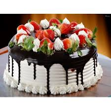 black forest fruit cake cakes out cake delivery in gurgaon