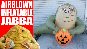 life size airblown inflatable jabba the hutt halloween decoration