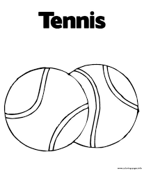 ball tennis s26e9 coloring pages printable