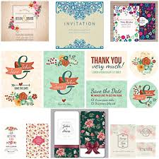 wedding invitations vector floral modern wedding invitations vector free
