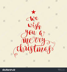 we wish you merry stock vector 522273280