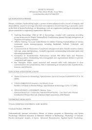 Sample Resume Objectives For Biology Majors by Psychology Major Resume Free Resume Example And Writing Download
