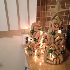 diy wine cork christmas trees u2014 kb aesthetics