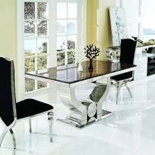 marble high top table luxurious dinette area design with high quality counter height