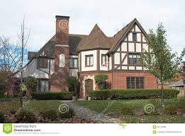 large old english tudor style home stock photo image 78787299