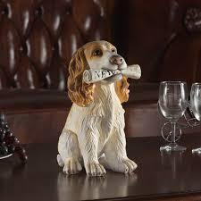 loyal cocker spaniel labrador retriever schnauzer figurines
