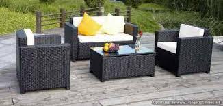 canapé jardin résine salon exterieur resine pas cher fauteuil jardin résine tressée