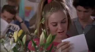 Clueless Movie Meme - yarn i sent myself love letters and flowers and candy clueless
