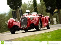 vintage alfa romeo 6c alfa romeo 6c 2300 editorial image image of motorcar 24501965