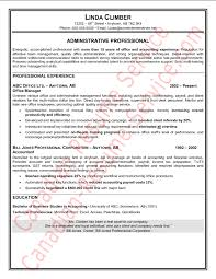 Sample Office Resume by Administrative Assistant Resume Sample Example