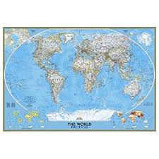 map mural amazon com national geographic 9 2 x6 4 map mural