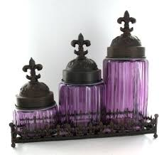 purple canister set kitchen 208 best kitchen canisters images on kitchen canisters