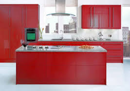Red Kitchen Cabinets Kitchen Modern Architecture Kitchen Design Ideas With Red