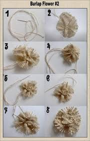 burlap flowers diy tutorial burlap flowers diy burlap flower tutorials bead cord