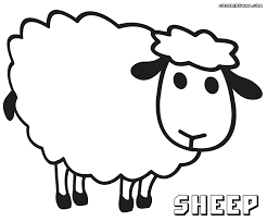 new sheep coloring page 83 on picture coloring page with sheep