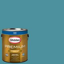 glidden premium 1 gal hdgg65d dark hunter green satin latex