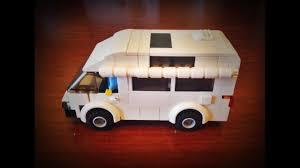 lego toyota lego toyota hiace camper van moc youtube