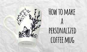 how to make a personalized coffee mug master of diy creative