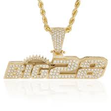 custom pendant 10k yellow gold custom big28 pendant shyne jewelers