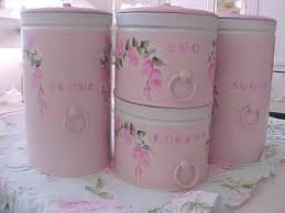 pink kitchen canisters 50 best canisters images on vintage canisters kitchen
