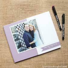 wedding book d i y wedding guest book with creative prompts the thinking closet