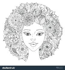 hairstyle books for women hair coloring books and barber job is to cut hair coloring pages