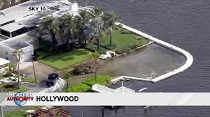 some flooding already reported in hollywood as king tides