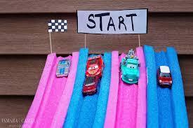 Bathtub Race Track Diy Pool Noodle Racetrack For Toy Cars Tamara Like Camera