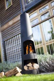 Steel Chiminea Steel Chimenea With Log Store Chiminea Patio Heater Cylinder