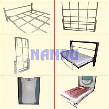 Folding Bed Mechanism Nandu Fittings Customized Folding Wall Bed Mechanism With Framing