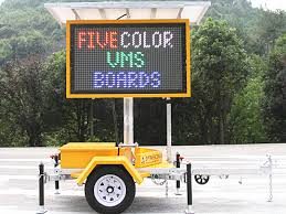 lighted message board signs oem 12v led dispaly matrix advertising message board road safety