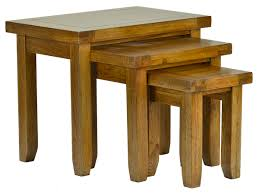 small nest of tables wooden nesting tables deboto home design modern nesting tables
