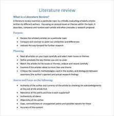 Completing A Literature Review In Research Proposal   GrantGalea