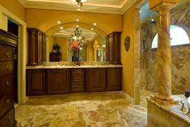 Spanish Style Bathroom by Grabill Kitchen Cabinets Edgarpoe Net