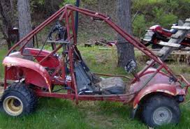 honda odyssey go cart honda odyssey fl250 to yamaha 340 sled power conversion diy go