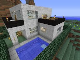 Modern House Ideas Awesome Modern House Minecraft Project Minecraft Pinterest