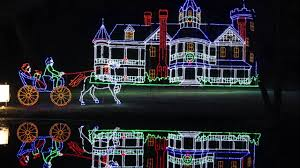 christmas lights springfield mo spirit of springfield s bright nights at forest park 2014 youtube